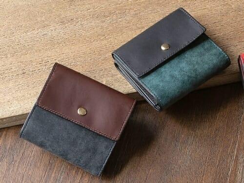 プエブロ&リスシオ ミニ財布 NIBUR(ニブール)Mens Leather Store(メンズレザーストア)