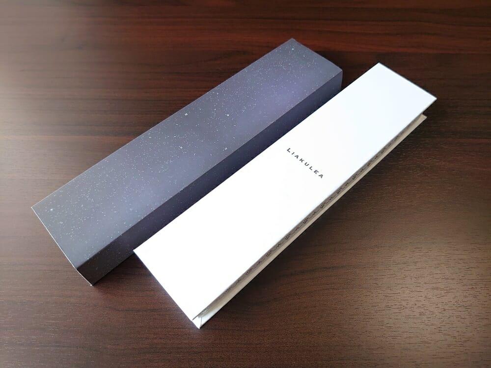 Luana(ルアナ)P08L 32mm ピンクゴールド メッシュストラップ LIAKULEA(リアクレア)腕時計レビュー パッケージング 化粧カバー