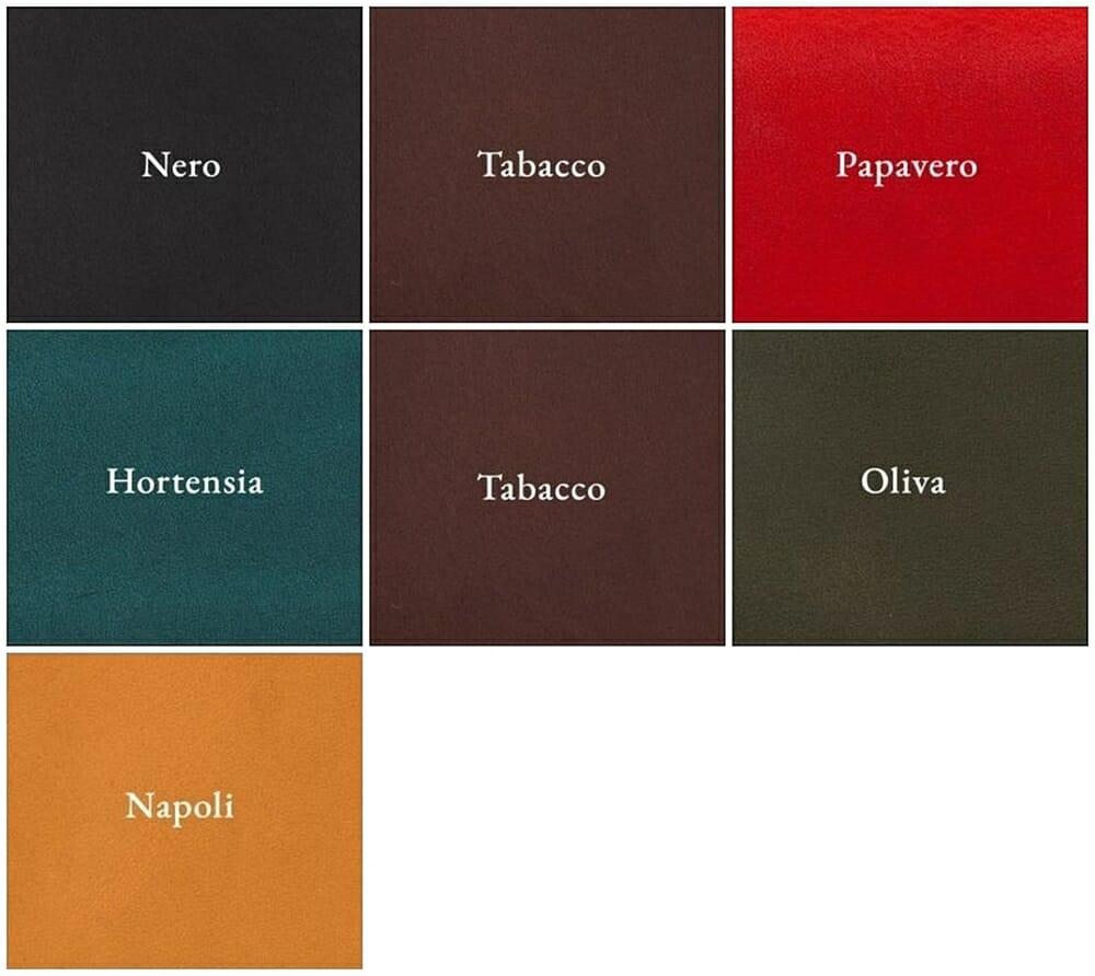 NIBUR(ニブール)ミネルバ リスシオ 内外装レザーカラー 7色