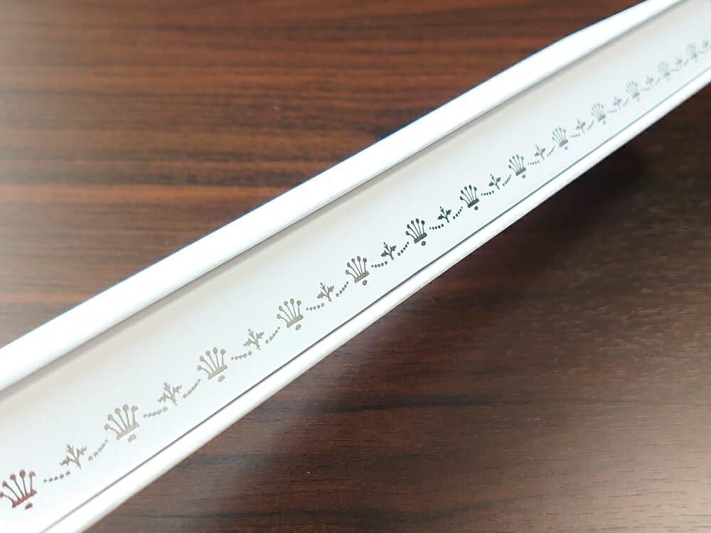Luana(ルアナ)P08L 32mm ピンクゴールド メッシュストラップ LIAKULEA(リアクレア)腕時計レビュー パッケージング サイドイラスト