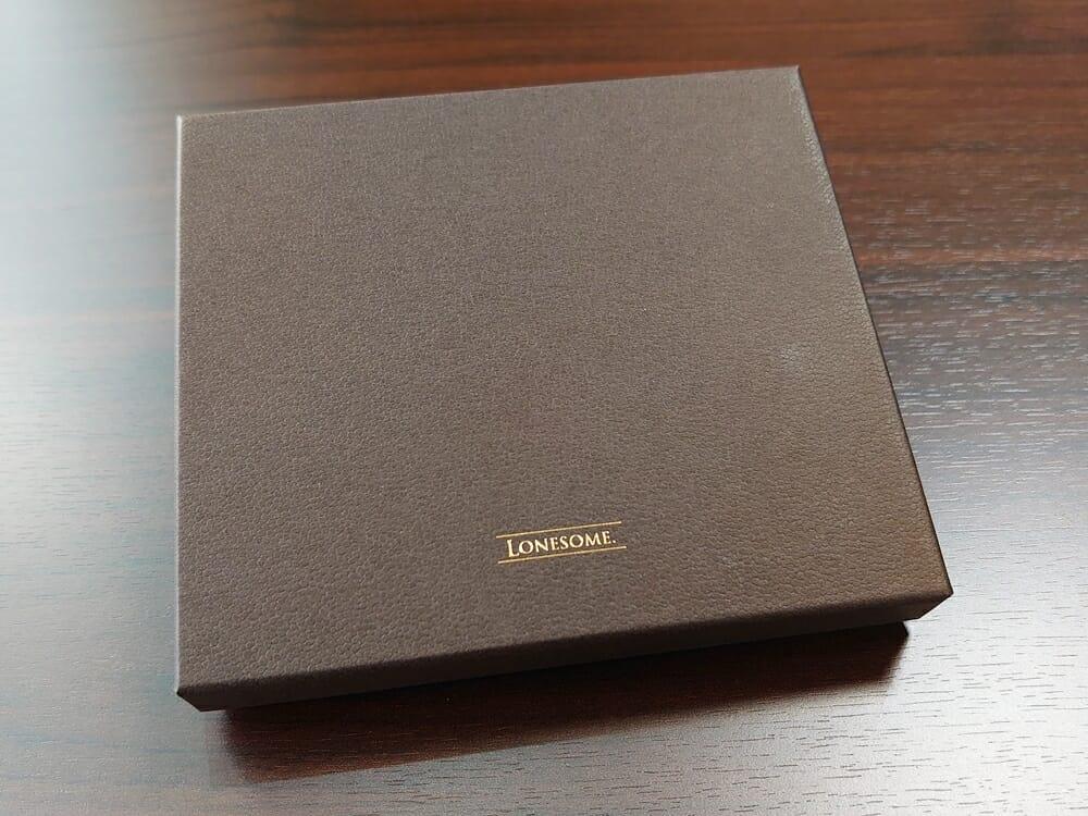 手揉みレザー マネークリップ コインケース付き LONESOME(ロンサム)Mens Leather Store(メンズレザーストア)パッケージング シボ加工