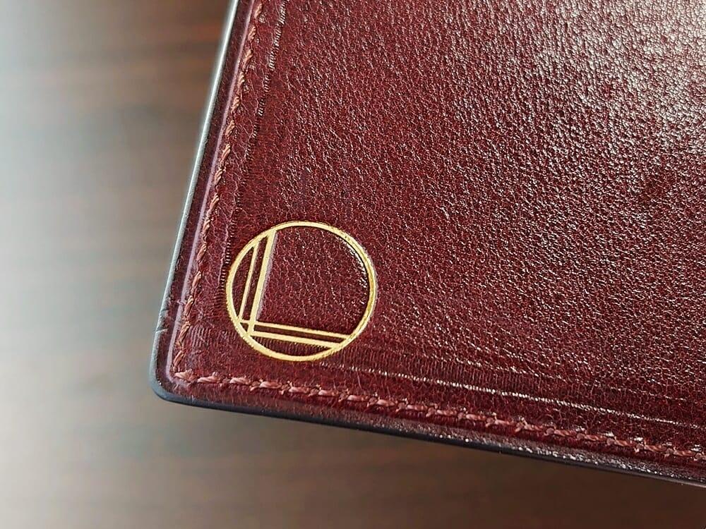 手揉みレザー マネークリップ コインケース付き LONESOME(ロンサム)Mens Leather Store(メンズレザーストア)刻印ロゴ