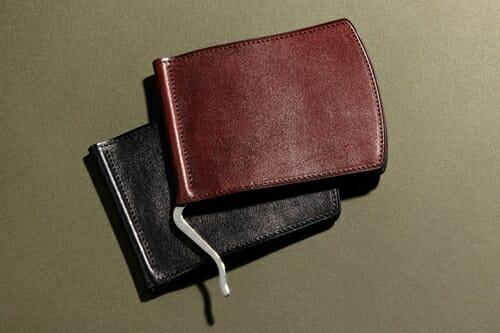 手揉みレザー マネークリップ LONESOME(ロンサム)Mens Leather Store(メンズレザーストア)