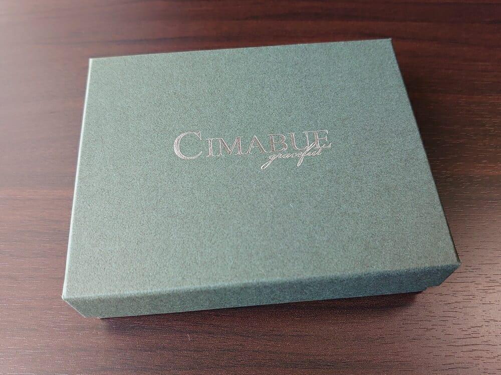 シュランケンカーフ マネークリップ(Blue)CIMABUE(チマブエ)Mens Leather Store(メンズレザーストア)パッケージング