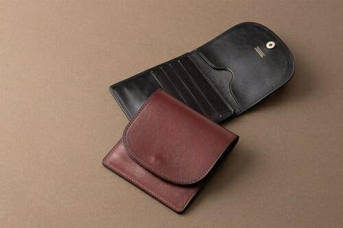 手揉みレザー ミニウォレット LONESOME(ロンサム)Mens Leather Store(メンズレザーストア)