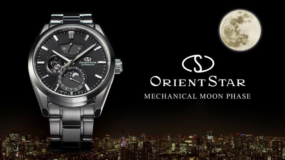 オリエントスター(ORIENT STAR)コンテンポラリー MECHANICAL MOON PHASE