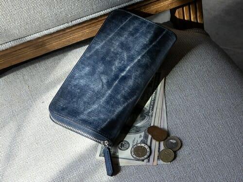 ブライドル ラウンドジップ長財布 CIMABUE(チマブエ)Mens Leather Store(メンズレザーストア)