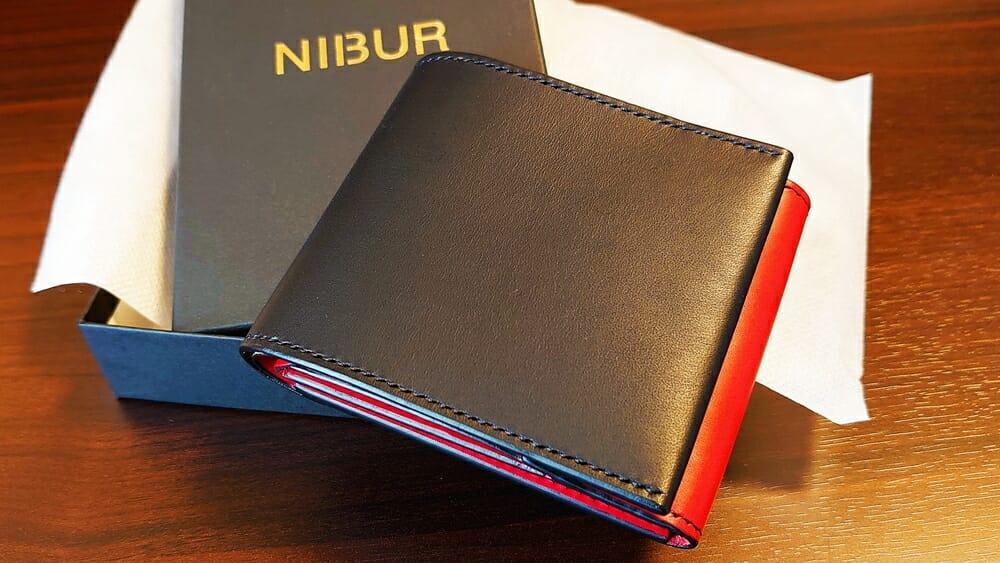 リスシオ ショート財布「Black x Red」NIBUR(ニブール)Mens Leather Store(メンズレザーストア)財布レビュー カスタムファッションマガジン
