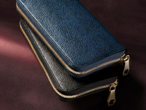 漆塗り ラウンドジップ長財布 CIMABUE(チマブエ)Mens Leather Store(メンズレザーストア)