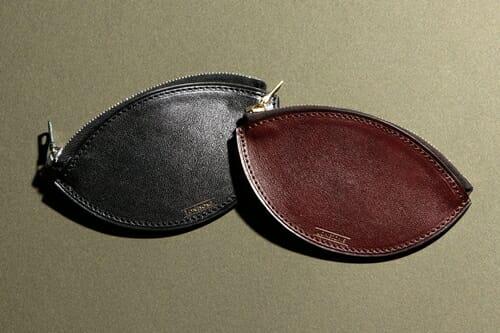 手揉みレザー ジップコインケース LONESOME(ロンサム)Mens Leather Store(メンズレザーストア)