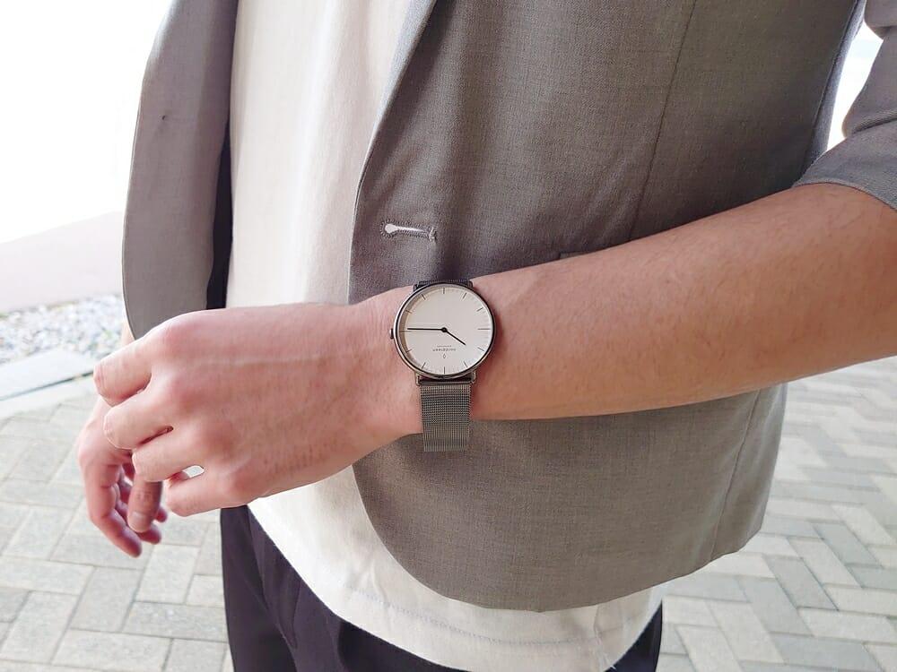 ビジネス腕時計 ビジネスマン オフィスカジュアル ジャケット Nordgreen ノードグリーン Native ネイティブ カスタムファッションマガジン