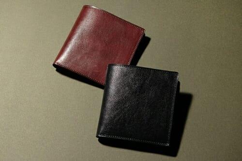 手揉みレザー 二つ折り財布 LONESOME(ロンサム)Mens Leather Store(メンズレザーストア)