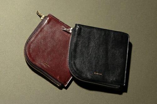 手揉みレザー L字ショートウォレット LONESOME(ロンサム)Mens Leather Store(メンズレザーストア)