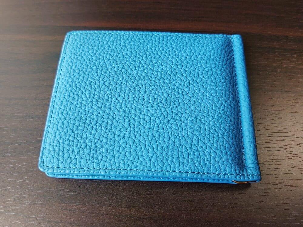 シュランケンカーフ マネークリップ(Blue)CIMABUE(チマブエ)Mens Leather Store(メンズレザーストア)外装 2