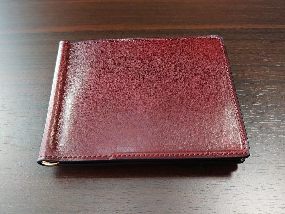 手揉みレザー マネークリップ コインケース付き LONESOME(ロンサム)Mens Leather Store(メンズレザーストア)外装