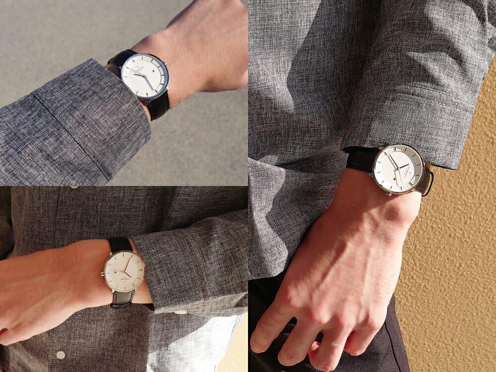 ビジネス腕時計 ビジネスマン カジュアルシャツ Nordgreen ノードグリーン フィロソファ 着用 カスタムファッションマガジン