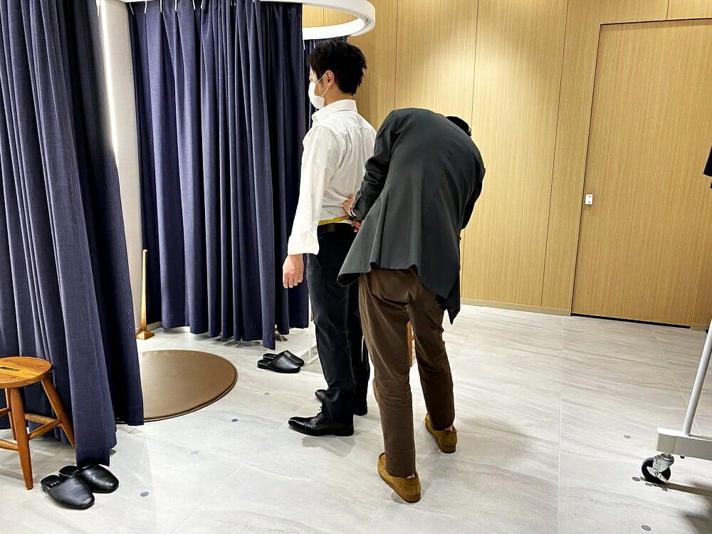 FABRIC TOKYO(ファブリックトウキョウ) 採寸 上半身