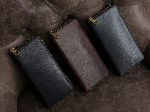 アンブローズ ラウンドジップ長財布 CIMABUE(チマブエ)Mens Leather Store(メンズレザーストア)