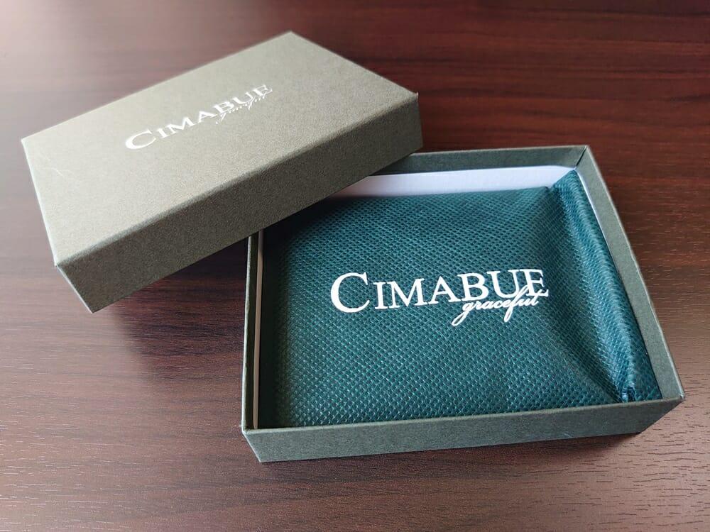 シュランケンカーフ マネークリップ(Blue)CIMABUE(チマブエ)Mens Leather Store(メンズレザーストア)パッケージング 不織布 袋