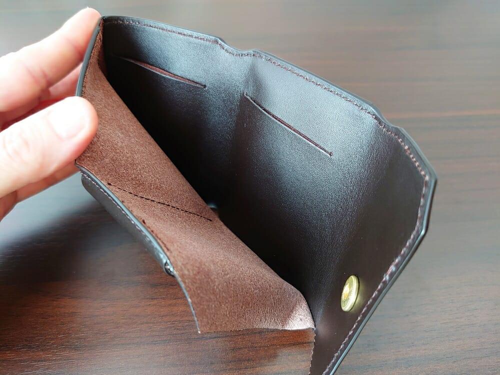 LIFE POCKET(ライフポケット)MiniWallet3 ミニウォレット3 espresso エスプレッソ 財布 札スペース
