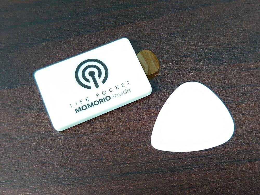 LIFE POCKET(ライフポケット)MiniWallet3 ミニウォレット3 espresso エスプレッソ 付属品 MAMORIO マモリオ 電池交換プラスチック板