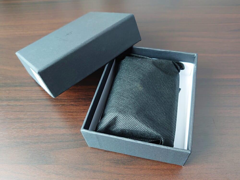 LIFE POCKET(ライフポケット)MiniWallet3 ミニウォレット3 espresso エスプレッソ 商品 パッケージング 不織布 袋