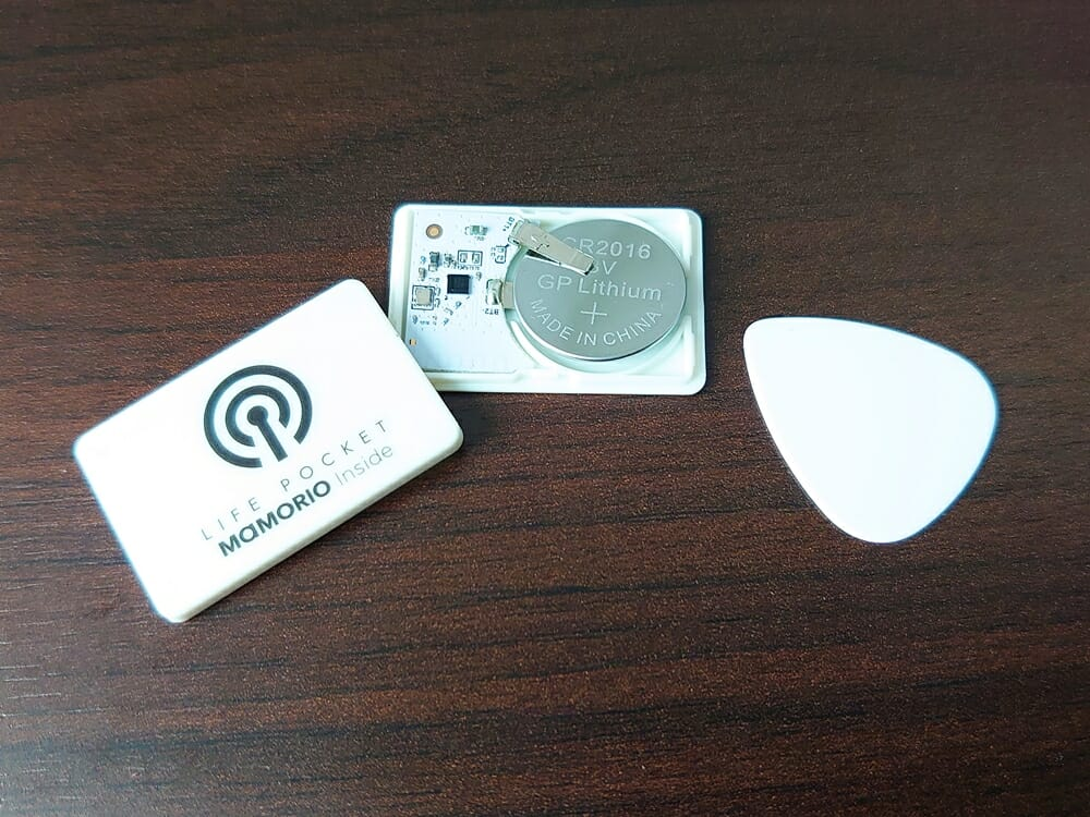 LIFE POCKET(ライフポケット)MiniWallet3 ミニウォレット3 MAMORIO マモリオ LIFE POCKET BEACON 電池交換