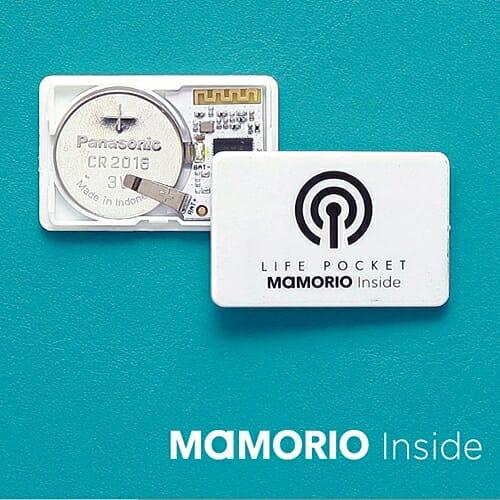 MAMORIO(マモリオ)「LIFE POCKET BEACON」電池交換可能 ライフポケット