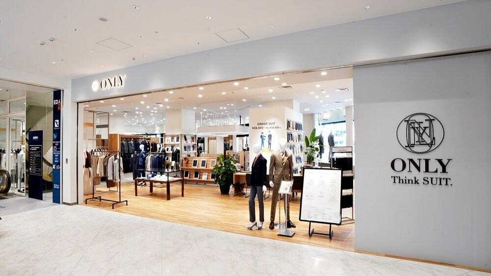 オーダースーツブランドONLY(オンリー)が地元京都に大型店舗「京都四条河原町店」をグランドオープン!アイキャッチ用