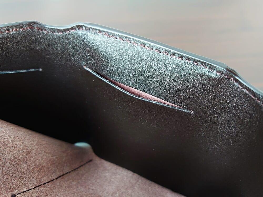 LIFE POCKET(ライフポケット)MiniWallet3 ミニウォレット3 espresso エスプレッソ 財布 札スペース カード入れ