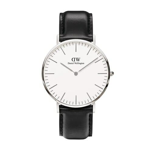 シェフィールド シルバー 40mm 腕時計 Classic Sheffield 0206dw Daniel Wellington(ダニエルウェリントン)