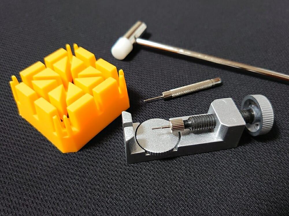 時計バンド(リンクブレスレット)サイズ調整 工具セット