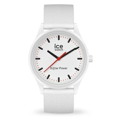 ICE solar power ポーラー(メッシュストラップ)ミディアム ice watch(アイスウォッチ)
