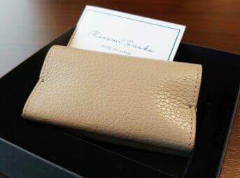 アドリアレザー カードケース(名刺入れ)MASAMI TANAKA(マサミ タナカ)Mens Leather Store(メンズレザーストア)