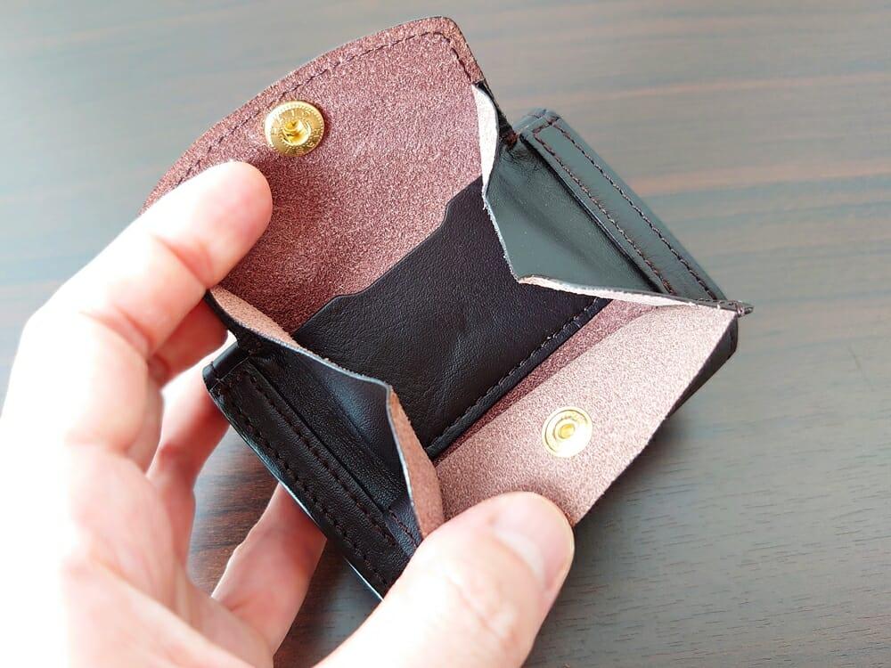 LIFE POCKET(ライフポケット)MiniWallet3 ミニウォレット3 espresso エスプレッソ 財布 ボックス型 小銭入れ