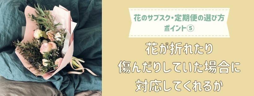 花のサブスク・定期便選び方5