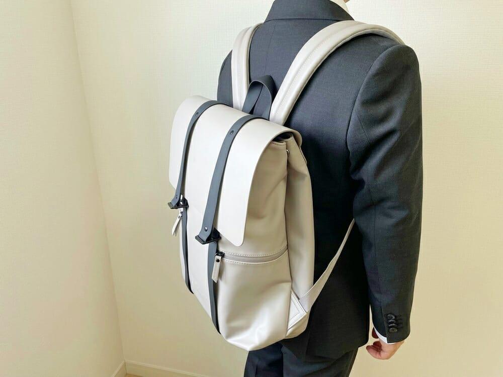 ガストンルーガ スプラッシュ16 着用 スーツスタイル (2)