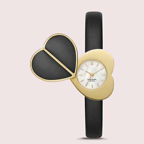ハート ツイストロック ゴールドトーン ステンレス スティール ウォッチ ブレスレット kate spade new york(ケイト・スペード ニューヨーク)腕時計