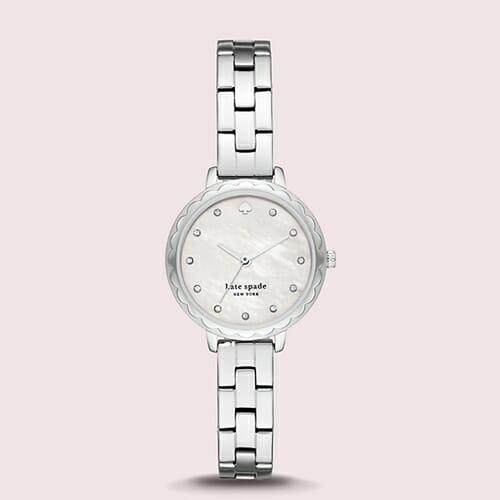 モーニングサイド スカラップ スリーハンド ステンレス スチール ウォッチ kate spade new york(ケイト・スペード ニューヨーク)腕時計