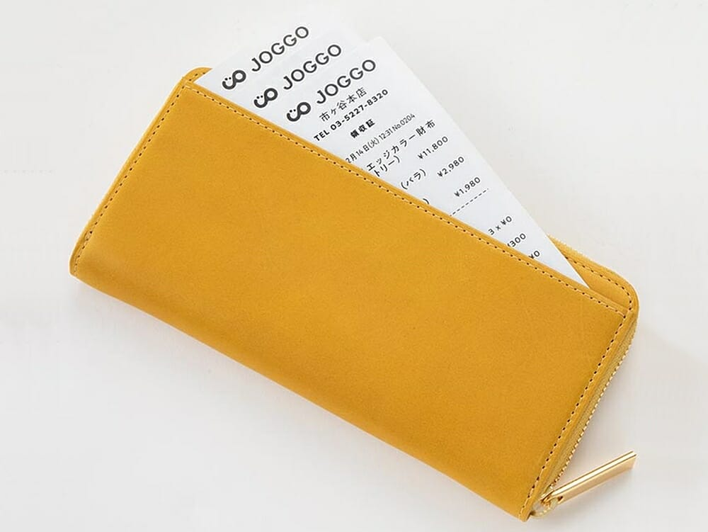 JOGGO ジョッゴ ENISHI ラウンド長財布(ENISHI)背面フリーポケット