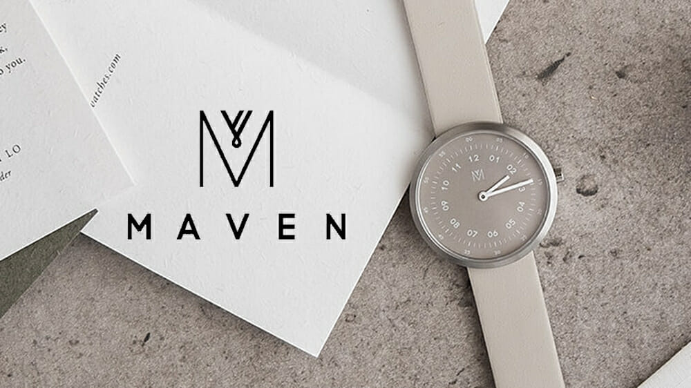 MAVEN WATCHES(マベンウォッチズ)ARTISAN SERIES SMOKE GREEN OFFWHITE 腕時計
