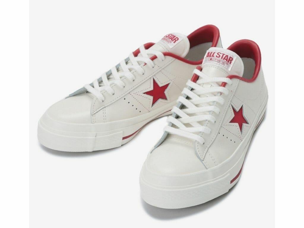 CONVERSE(コンバース) ONE STAR(ワンスター) ホワイト レッド
