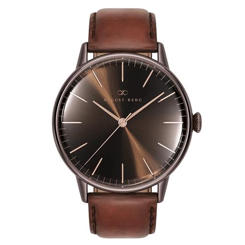 Serenity セレニティ Cuppa [カッパ] Brown [ブラウン] Classic Dark Brown [ダークブラウン] Leather [レザー]10240C07LBN11 オーガストバーグ August Berg