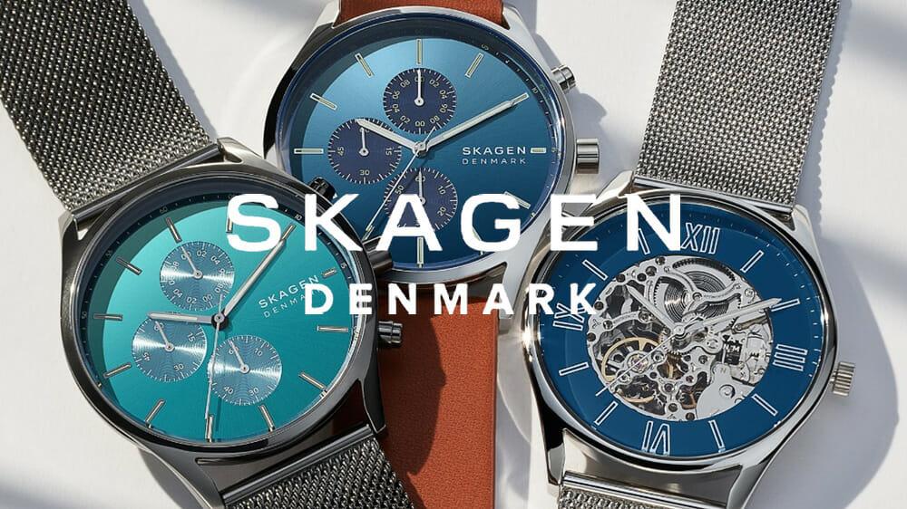 スカーゲン SKAGEN デンマーク 腕時計
