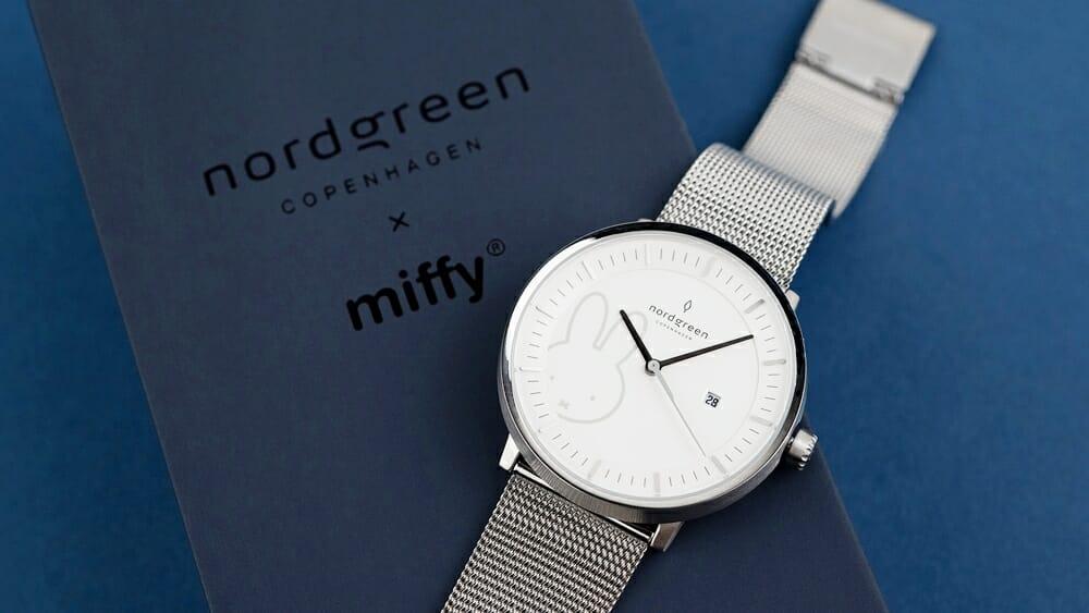 Nordgreen ノードグリーン ミッフィー コラボレーション 腕時計 Philosopher フィロソファ(シルバーメッシュ)36mm