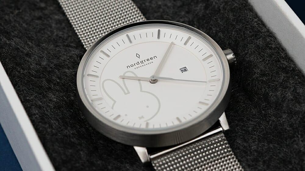 Nordgreen ノードグリーン ミッフィー コラボレーション 腕時計 Philosopher フィロソファ(シルバーメッシュ)ダイアル