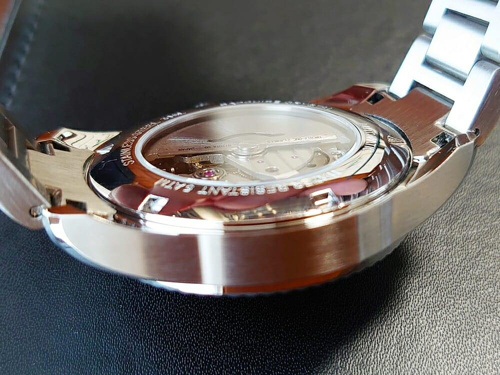 RENAUTUS ルノータス クラシックオートマチック40 ハイエンド機械式モデル 機械式ムーブメント MIYOTA821A 自動巻き 手巻き バックケースガラス