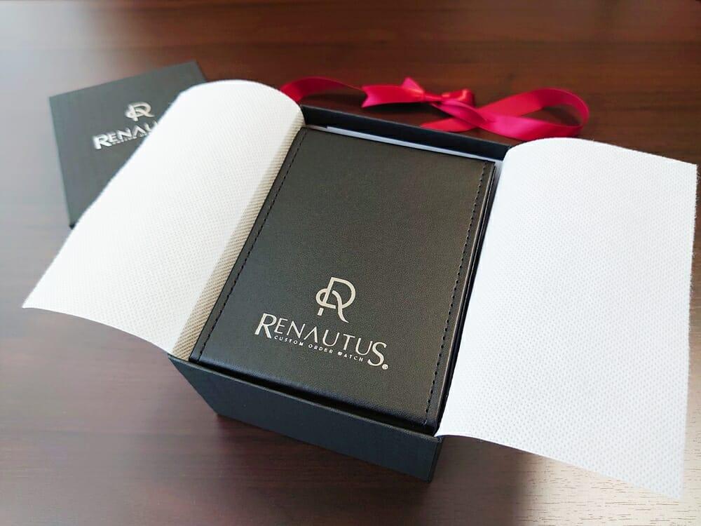 RENAUTUS ルノータス クラシックオートマチック40 パッケージング ギフト ハードケース