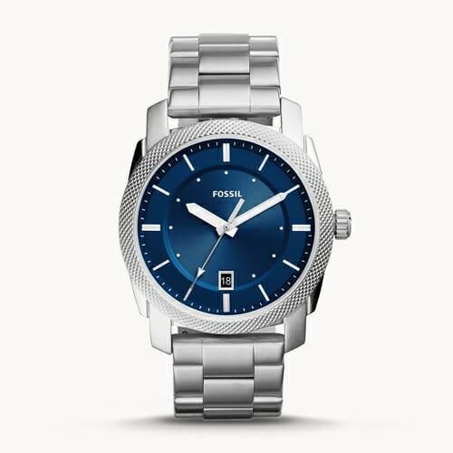 MACHINE 三針デート ステンレススチールウォッチ FS5340_main FOSSIL フォッシル メンズ腕時計