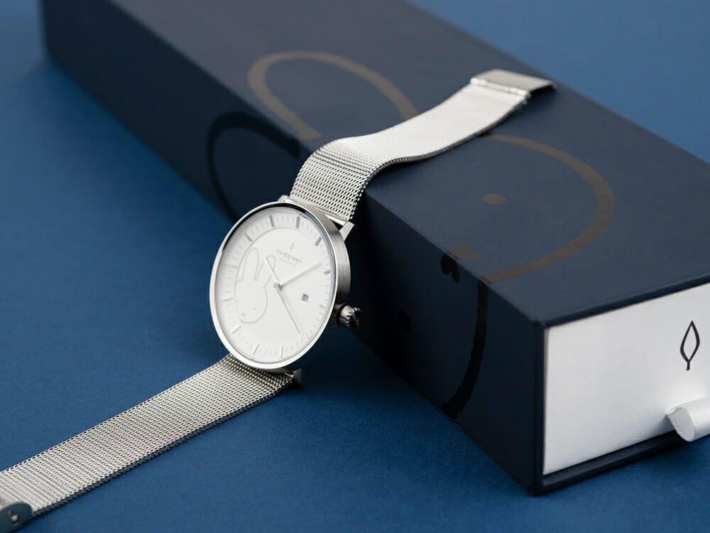 Nordgreen ノードグリーン ミッフィー コラボレーション 腕時計 Philosopher フィロソファ(シルバーメッシュ)ミッフィー パッケージング ギフトボックス4